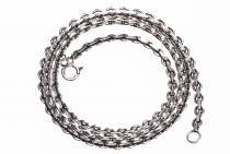 Dunkle Wikinger Halskette ~ THORA ~ 46 cm - Antik Silber - Windalf.de