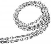 Zarte Dunkle Halskette ~ NOIRA ~ 40 cm - Silber - Windalf.de