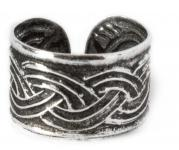 Ohrklemme Haarschmuck ~ NUADA ~ Celtic - Silber - Windalf.de