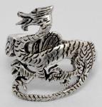 Drachen-Ring ~ Keltischer Drache ~ Wales-Dragon - Silber - Windalf.de