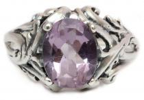 Mittelalter Ring ~ MANJA ~ Fairy Ring - Amethyst - Silber - Windalf.de