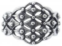 Ring Wikinger ~ THURIN ~ 14 mm - Vintage Schmuckring - Antik Silber - Windalf.de
