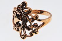 Ring ~ LICORNA ~ Kleines Einhorn - Bronze - Windalf.de