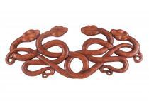 Wandbild ~ MANDRA ~ Keltische Schlangen - 65 cm - aus Holz - Windalf.de