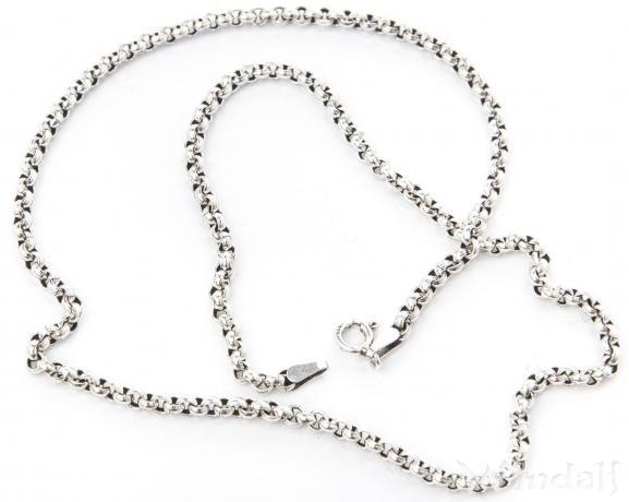 Wikinger Halskette ~ RAGNOR ~ 40 cm - Erbskette - Vintage Silber - Windalf.de