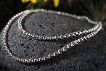 Wikinger Halskette ~ RAGNOR ~ 47 cm - Erbskette - Vintage Silber - Windalf.de