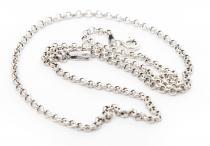 Feine Mittelalter Halskette ~ NILÀ ~ l: 45 cm - Vikings - Silber - Windalf.de