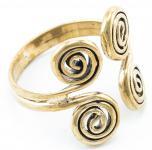 Keltischer Ring ~ SILVAN ~ 20 mm - Life-Spirals - Hallstattzeit - Bronze - Windalf.de