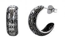 Ohrringe ~ TORA ~ Viking - Silber - Windalf.de