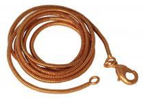 Schlangenkette ~ RIGANI ~ l: 61 cm - Bronze - Windalf.de