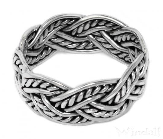 Wikinger Ring Asgard Vikings Silber Viking Ringe Nach