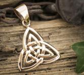 Keltischer Anhänger ~ TIRYLA ~ Bronze - Windalf.de