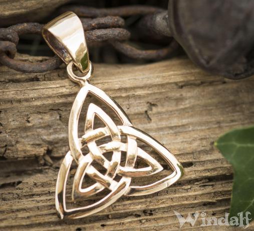 WINDALF Keltischer Schmuck Anhänger TYLA Bronze