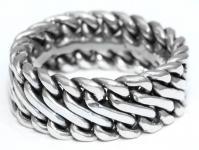 Wikinger Ring ~ RAGNAR ~ Handgearbeitet - Silber - Windalf.de