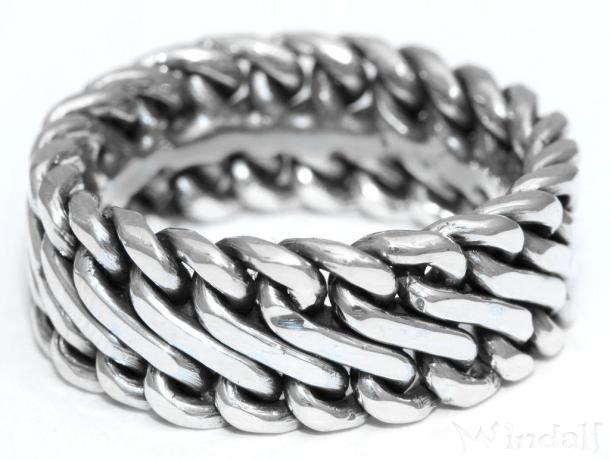 Wikinger Ring Ragnar Handgearbeitet Silber Viking Ringe Nach