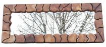 Extra Großer Spiegel ~ VERDANE ~ 150 cm - Wandspiegel - Wurzelholzkunst - Handarbeit - Windalf.de