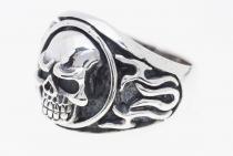 Ring ~ KULT ~ Totenkopf - Skull - Silber - Windalf.de