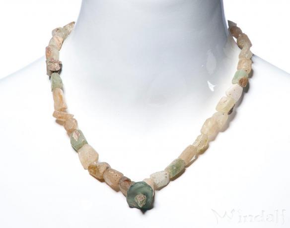 Wikinger Perlen ~ BÔRUNN ~ l: 45 cm - Römisches Glas - Windalf.de