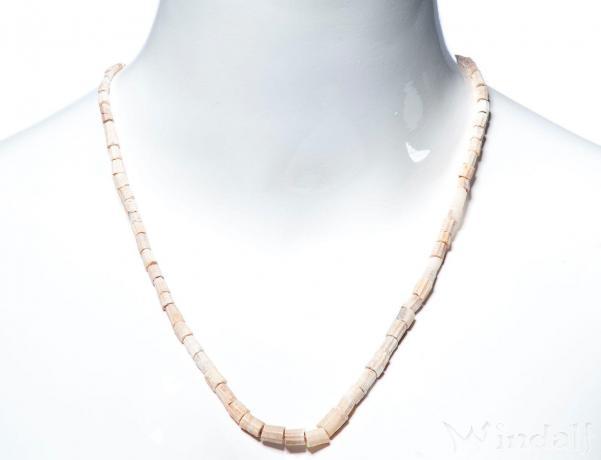 Wikinger Perlenkette ~ GINA ~ 52 cm - Wüstenkorallen - Windalf.de