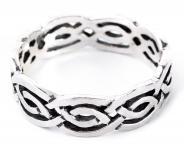 Ring ~ ROYA ~ Keltischer Knoten - Silber - Windalf.de