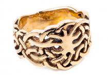 Ring Celtic ~ BILLEY ~ Lebensbaum - Bronze - Windalf.de