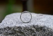 Kelten Ring ~ SKÅRA ~ Flecht-Muster - Silber - Windalf.de