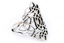 Ring ~ RISE ~ mit keltische Knoten - Silber - Windalf.de