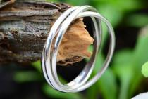 Happy Ring ~ LACOME ~ 3 Damen Ringe - Silber - Windalf.de