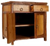 Großer Vintage Nachttisch ~ INKA ~ B: 70 cm H: 71 cm - Vintage Kommodenschrank -  Anrichte - Unikat - Windalf.de