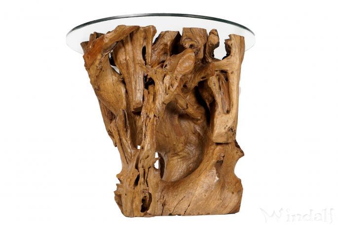 Hoher Rustikaler Kaffeetisch Villebon B 90 Cm H 80 Cm